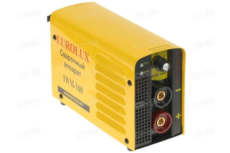 Сварочный аппарат eurolux iwm160 отзывы сварочный аппарат awelco tornado 200