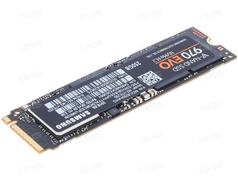 Kupit 250 Gb Ssd M 2 Nakopitel Samsung 970 Evo Mz V7e250bw V