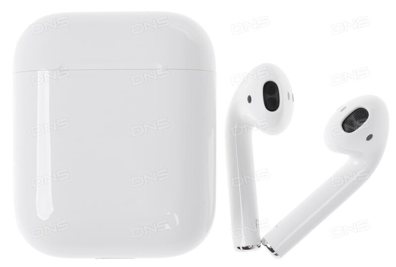Купить Bluetooth стереогарнитура Apple Airpods белый в интернет ... 7212aaf86223f