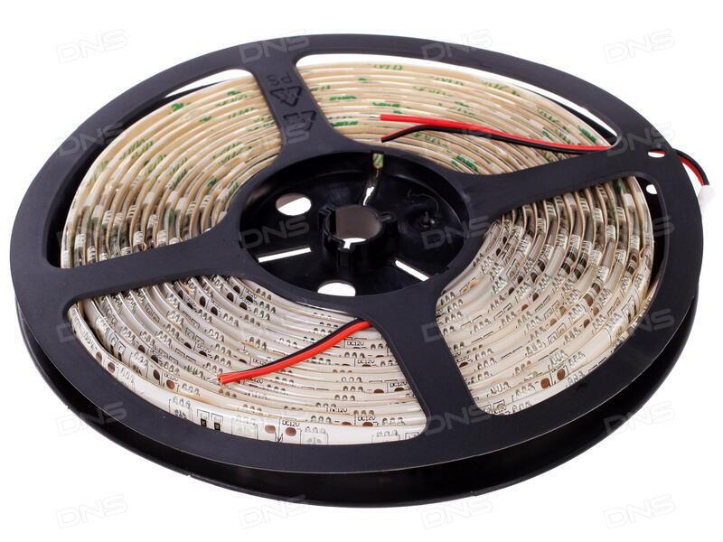 Светодиодная лента ASD LS 50G-30/65 30LED 7.2W/m 12В 5m IP65 Green 4690612000626