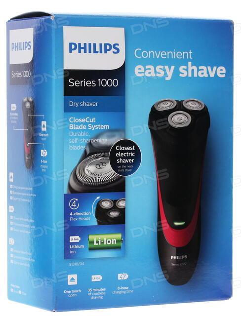 dc571b7618a71f Купить Электробритва Philips S1310/04 в интернет магазине DNS ...