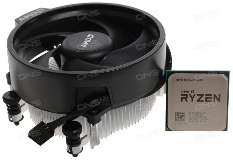 Купить Процессор AMD Ryzen 5 2600 BOX в интернет магазине DNS   Характеристики, цена AMD Ryzen 5 2600 | 1228169