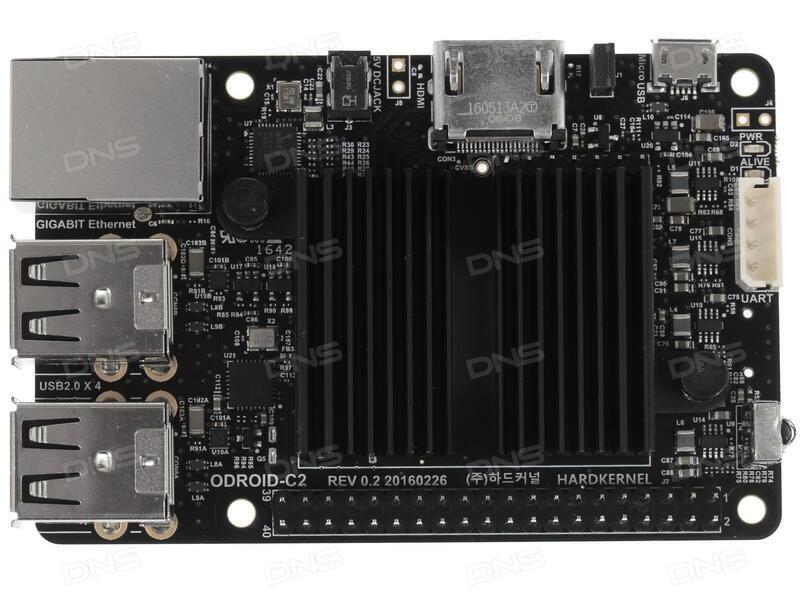 Купить Микрокомпьютер ODROID-C2 в интернет магазине DNS