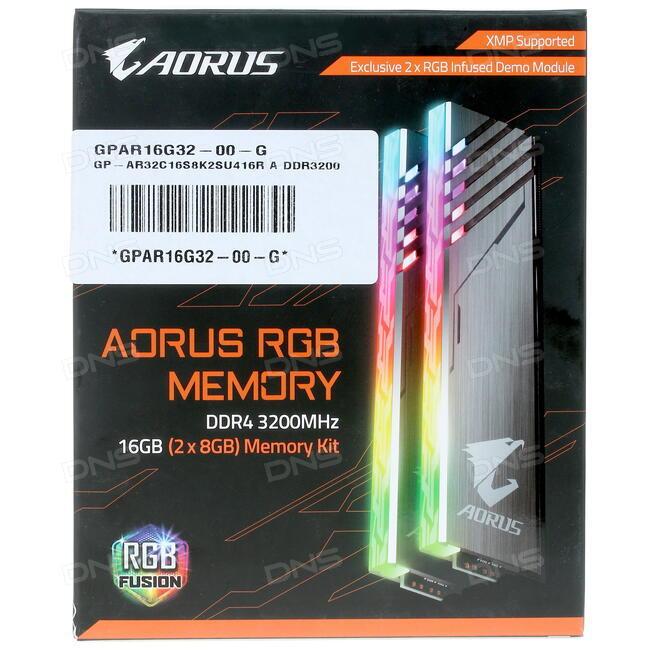 Купить Оперативная память GIGABYTE Aorus RGB [GP