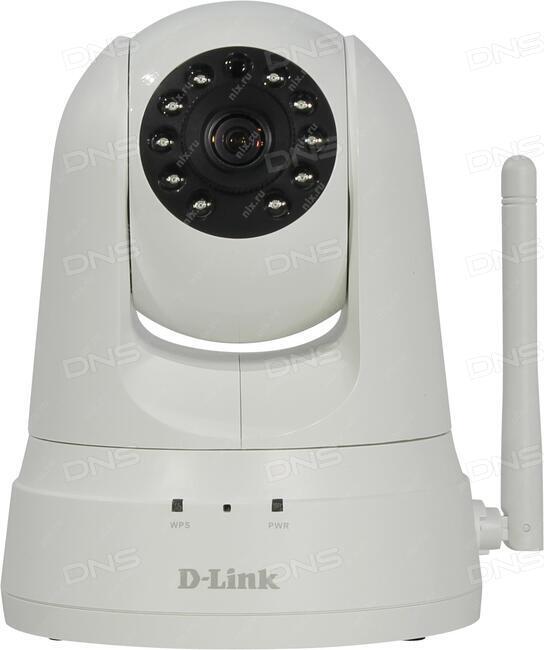 Камера D-Link DCS-932L/B2A Беспроводная облачная сетевая VGA-камера день/ночь с ИК-подсветкой до 5 м