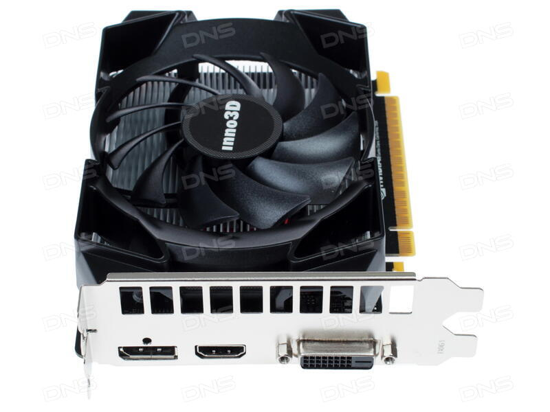 Купить Видеокарта INNO3D GeForce GTX 1050 Ti Compact  N105T-1SDV ... 25d5743603c49