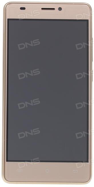 Смартфон BQ 5005L Intense Black Brushed MediaTek MTK6737/16 Gb/2 Gb/ 5