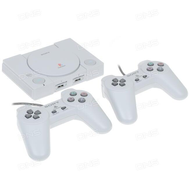 Купить Игровая приставка PlayStation Classic + Twisted Metal, Wild Arms,  Tom Clancy's Rainbow Six, Tekken 3 в