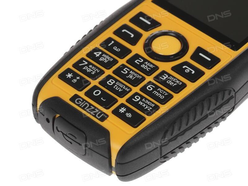 Сотовый телефон Ginzzu S5220 Black
