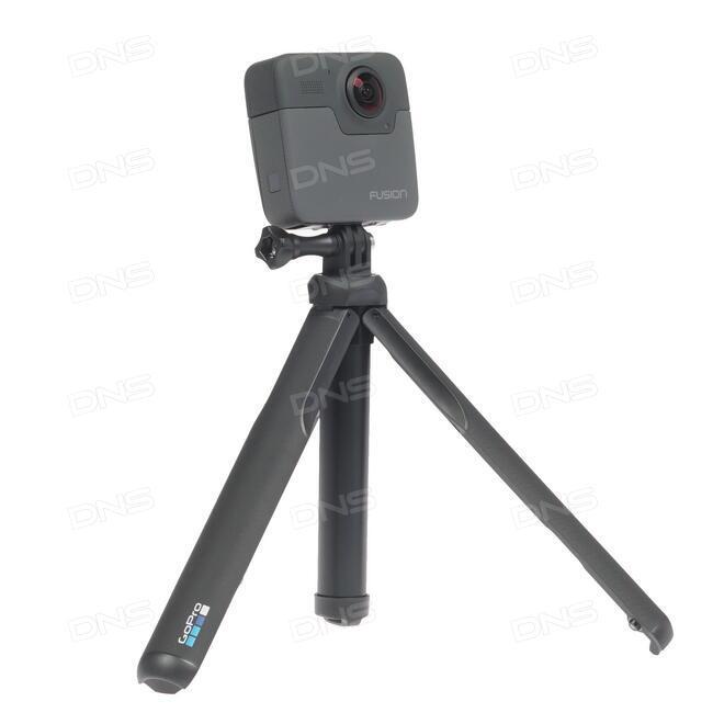 Купить Экшн видеокамера GoPro Fusion 360 серый в интернет магазине DNS   Характеристики, цена GoPro Fusion 360 | 1226528