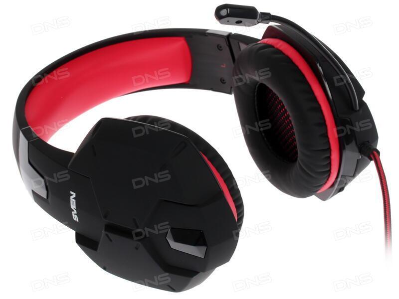 Купить Наушники Sven AP-G988MV черный в интернет магазине DNS ... 596e1dcc6fdc6