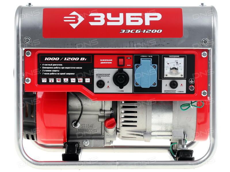 бензиновый генератор зубр зэсб-1200 инструкция