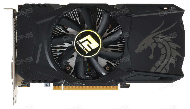 Купить Видеокарта PowerColor AMD Radeon RX 560 Red Dragon 14 CU [AXRX 560  4GBD5-DHA] в интернет магазине DNS  Характеристики, цена PowerColor AMD
