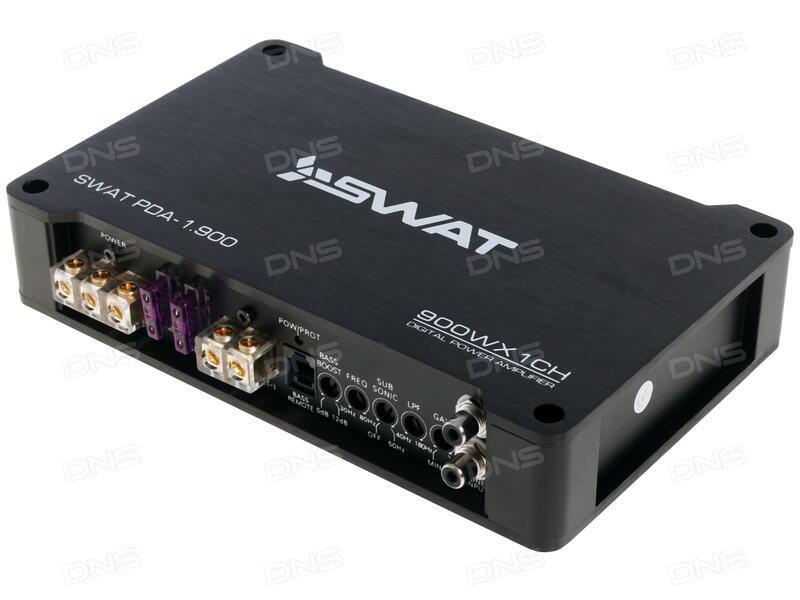 Автомобильный усилитель Swat PDA 1.900 - фото 6
