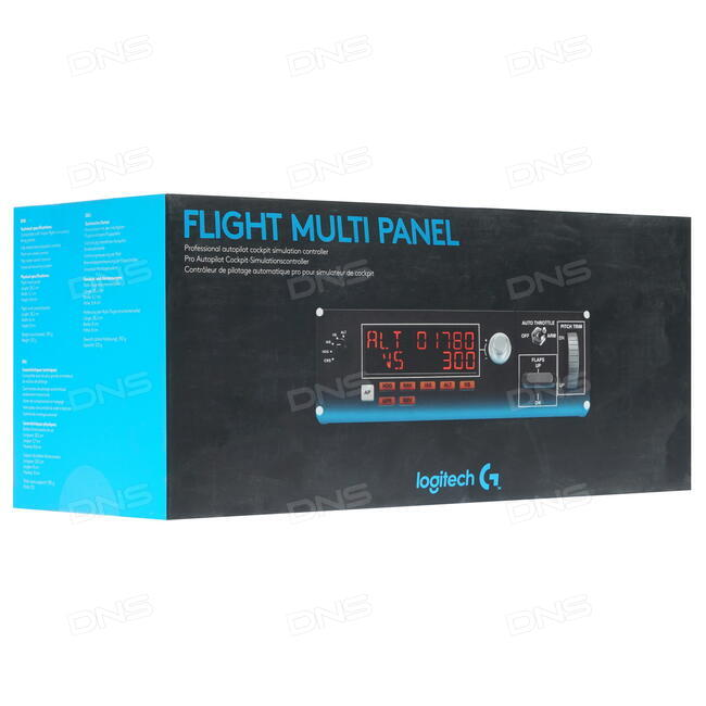 Купить Панель управления Logitech Pro Flight Multi Panel черный в интернет  магазине DNS