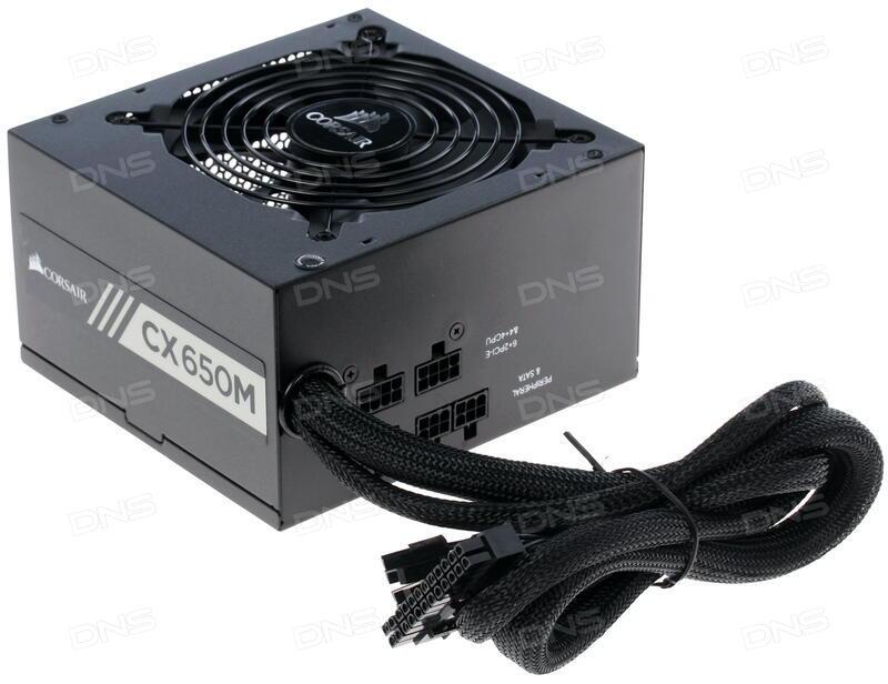 Купить Блок питания Corsair CX 650m [CP-9020103-EU] в интернет магазине  DNS  Характеристики, цена