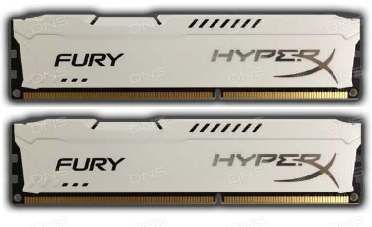 Оперативная память Kingston HyperX FURY White Series  HX313C9FWK2 16  16 ГБ 8d24845378f