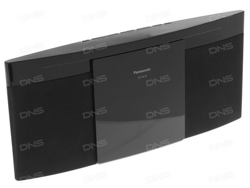 Купить Домашняя аудиосистема Panasonic SC-HC19EE-K в интернет ... b647f2295ff