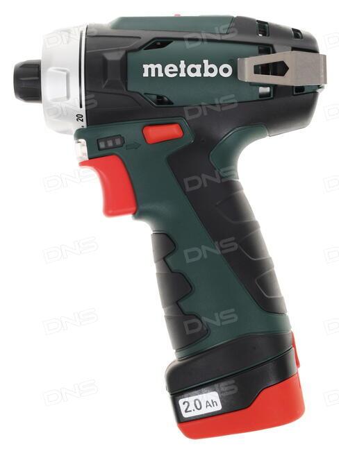 Купить Шуруповерт Metabo PowerMaxx BS в интернет магазине DNS. Характеристики, цена Metabo ...