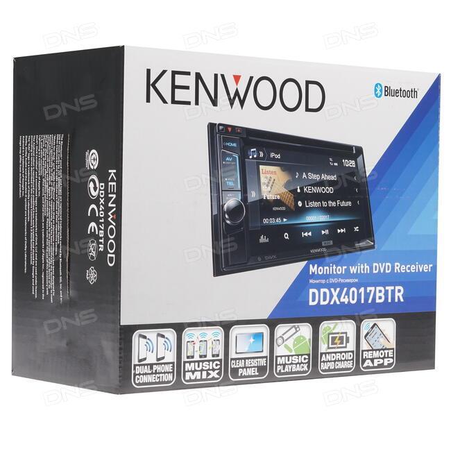 Купить Автопроигрыватель KENWOOD DDX-4017BTR в интернет магазине DNS