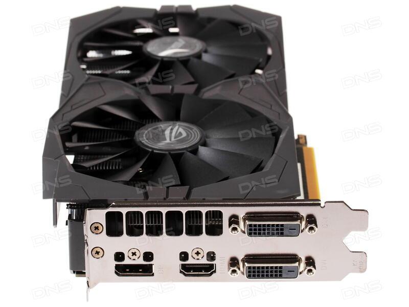 Купить Видеокарта ASUS AMD Radeon RX 470 STRIX [STRIX-RX470