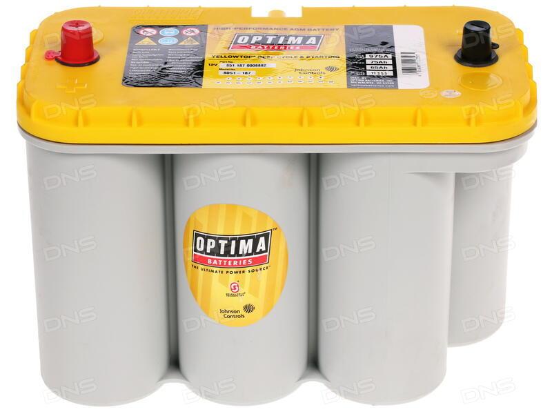 Аккумулятор для легкового автомобиля Optima YellowTop YT U 4.2 - фото 7