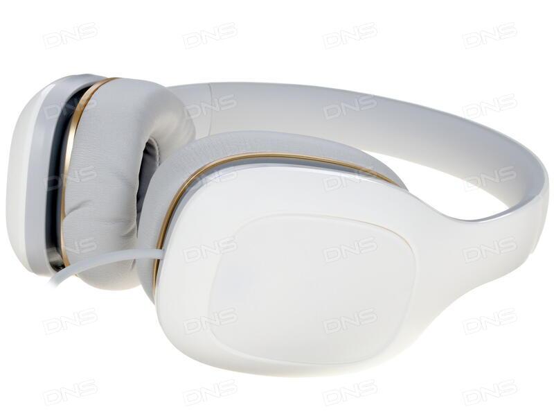 Купить Наушники Xiaomi Mi Headphones TDSER02JY белый в интернет ... b78f416e99460