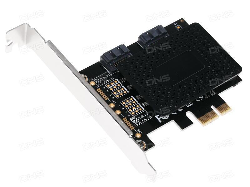 Контроллер ORIENT A1061SL PCI-E v2.0 SATA 3.0 6 Gb/s 2int port поддержка HDD до 6TB ASM1061 chipset oem