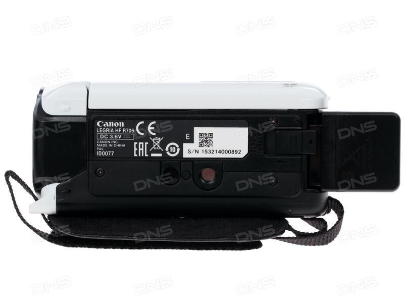 canon legria hf r706 manual