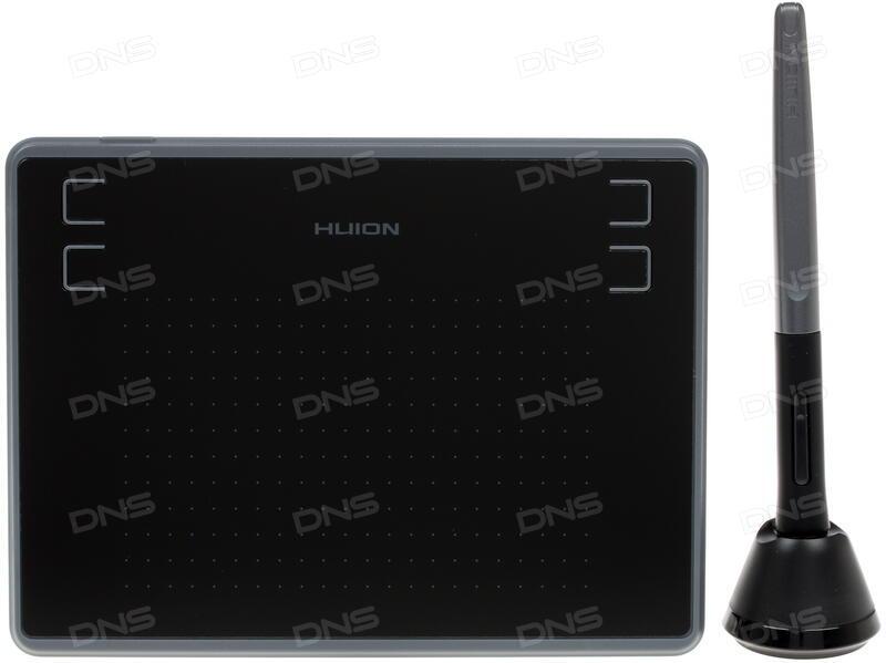 Купить Графический планшет HUION H430P в интернет магазине DNS   Характеристики, цена HUION