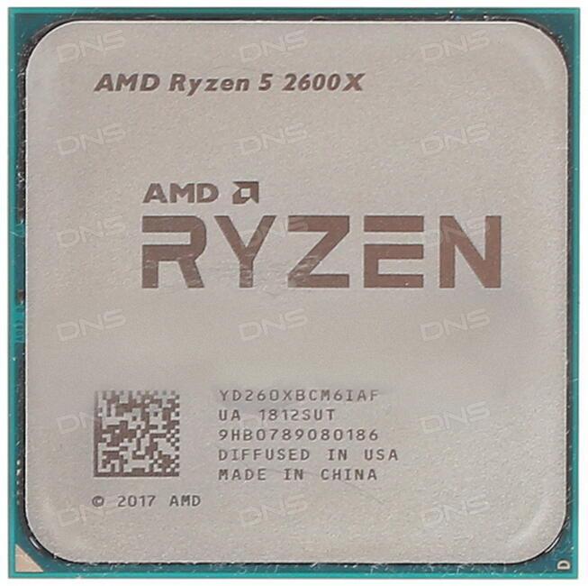 Купить Процессор AMD Ryzen 5 2600X OEM в интернет магазине DNS   Характеристики, цена AMD Ryzen 5 2600X | 1228168