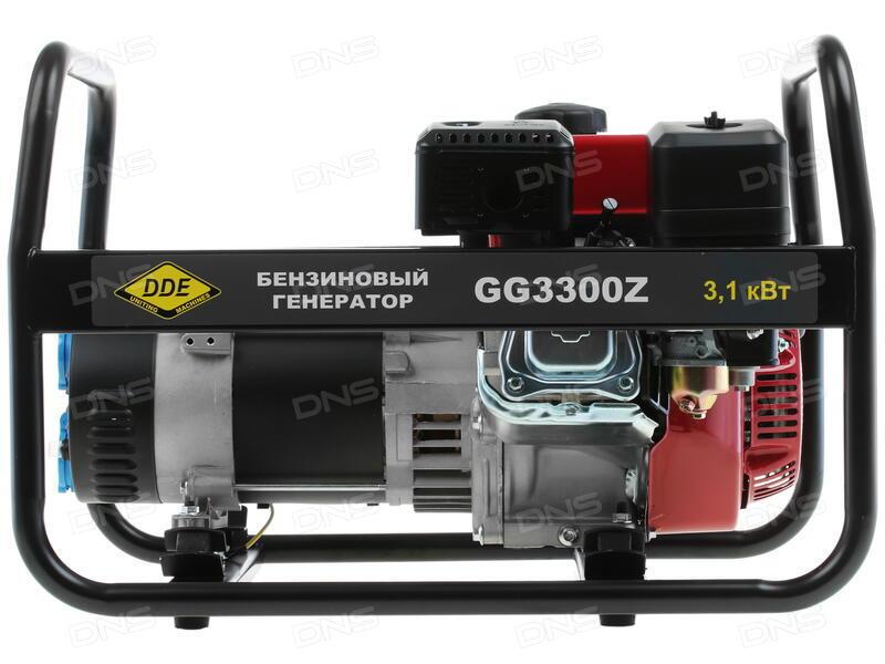 Бензиновый генератор dde gg3300z отзывы установленная мощность сварочного аппарата