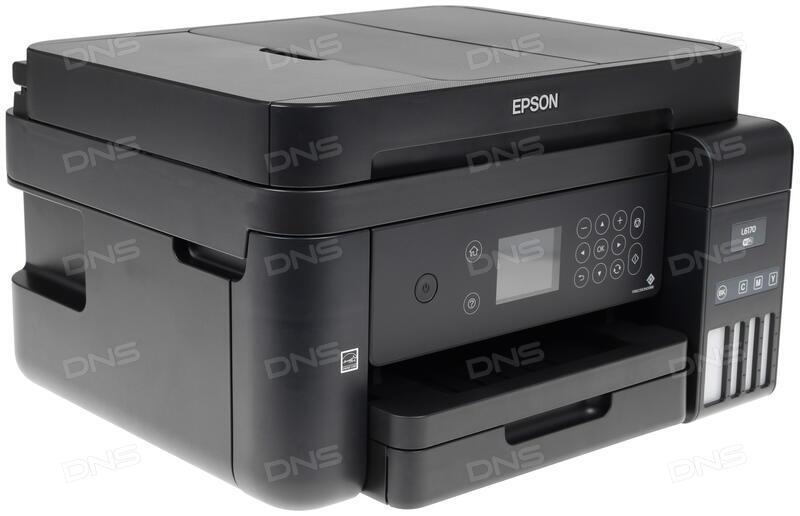 Купить МФУ струйное Epson L6170 в интернет магазине DNS  Характеристики,  цена Epson L6170 |