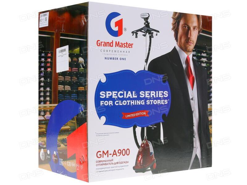 46fea0cc6b2a Отзывы покупателей о Отпариватель Grand Master GM-A900 красный ...