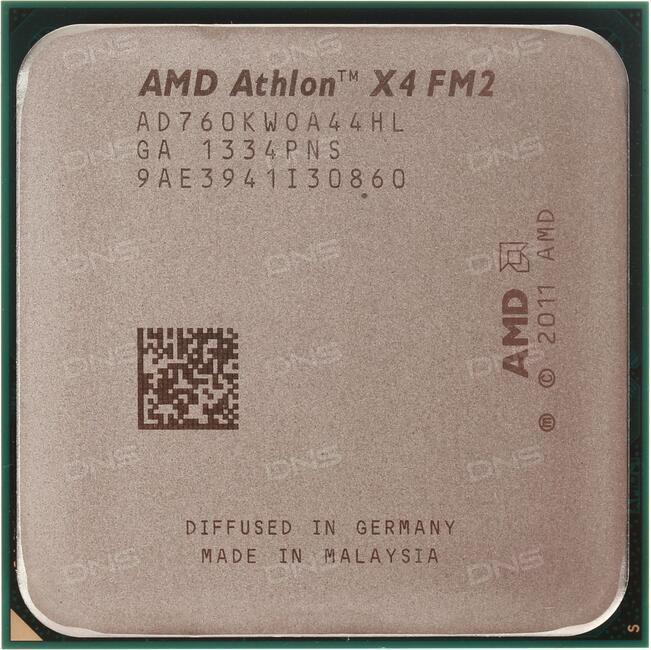 Процессор AMD A4 5300 OEM SocketFM2 (AD5300OKA23HJ)