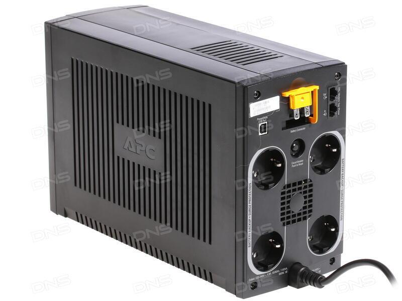 Купить ИБП APC Back-UPS RS 1100VA [BX1100CI-RS] в интернет магазине DNS   Характеристики, цена APC Back-UPS RS 1100VA [BX1100CI-RS] | 0187454