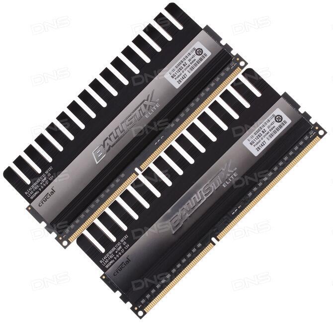 Купить Оперативная память Ballistix Elite [BLE2CP4G3D1869DE1TX0CEU