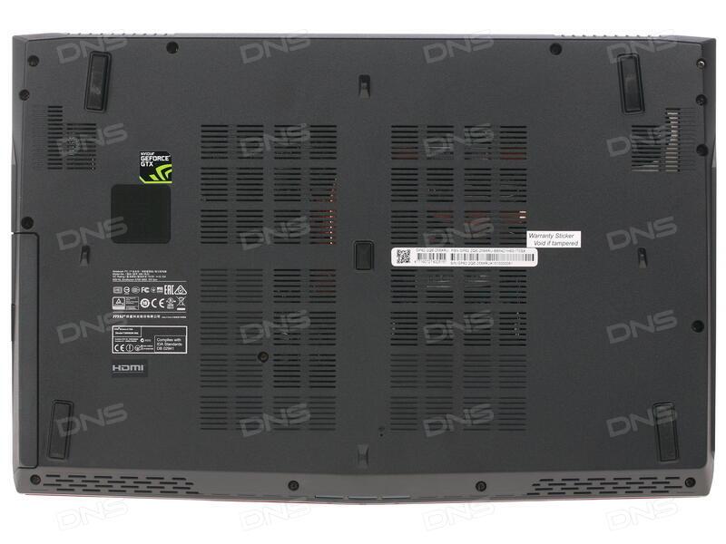 Ноутбук MSI GP62 7RD-464XRU Leopard Black 9S7-16J942-464 (Intel Core i5-7300HQ 2.5 GHz/8192Mb/1000Gb/DVD-SM/nVidia GeForce GTX 1050 2048Mb/Wi-Fi/Bluetooth/Cam/15.6/1920x1080/DOS)