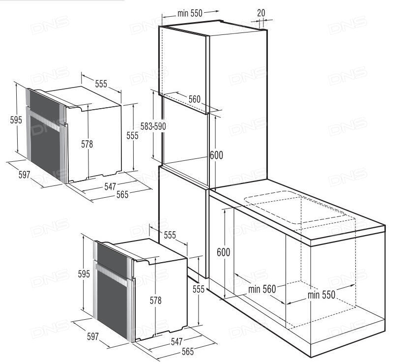 gorenje bo 7454 db dns. Black Bedroom Furniture Sets. Home Design Ideas