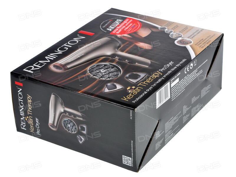 Технические характеристики Фен Remington AC8000 серебристый ... e3bd388f088ea