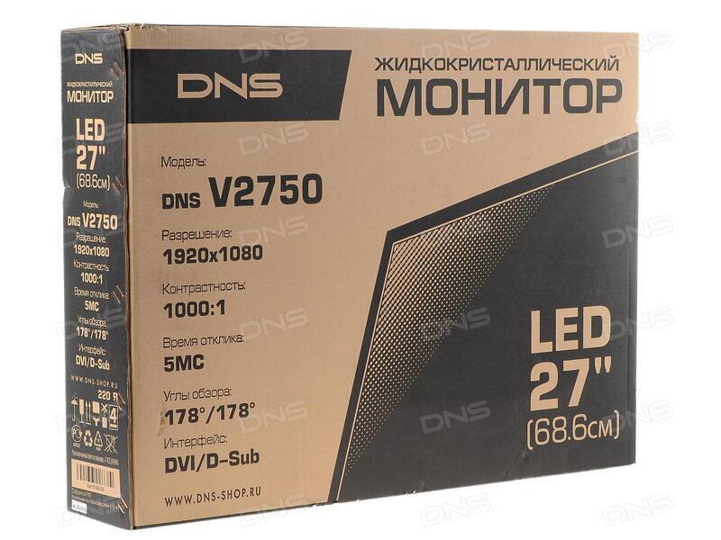 Скачать драйвер для монитора dns v2756