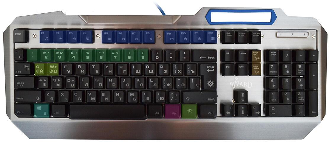 Periferiya - Obzor klaviatury Defender Wizard GK-230DL