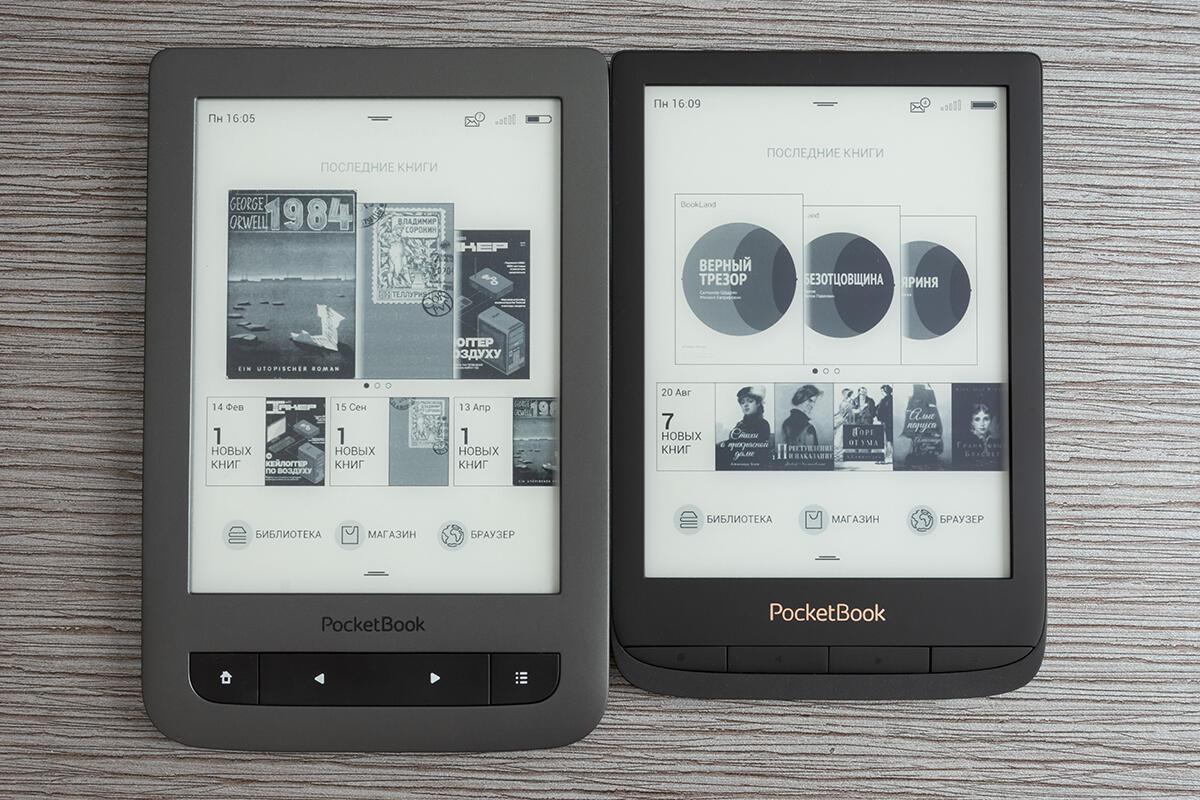 Planshety i elektronnye knigi - Obzor ridera PocketBook 627: 6-dyuymovyy rider s «oblakom», batareykoy na poltora mesyatsa raboty i ultrakompaktnym dizaynom