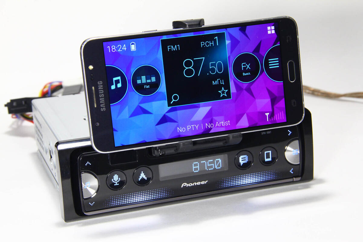Avtotovary - Ne rasstavayas so smartfonom: Obzor avtomobilnogo smart-resivera Pioneer SPH-10BT