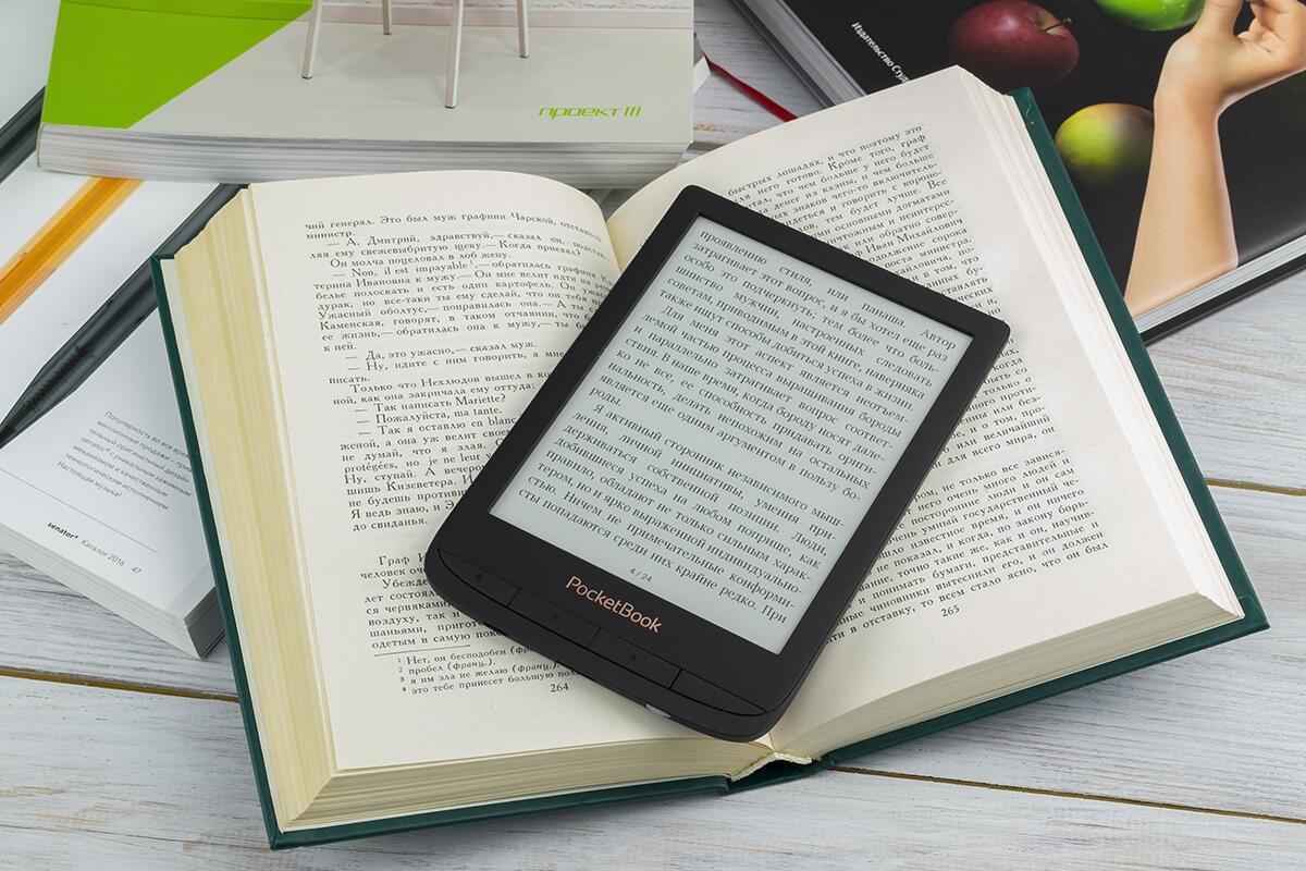 Planshety i elektronnye knigi - Obzor PocketBook 627: malenkiy, no ochen materyy bukrider