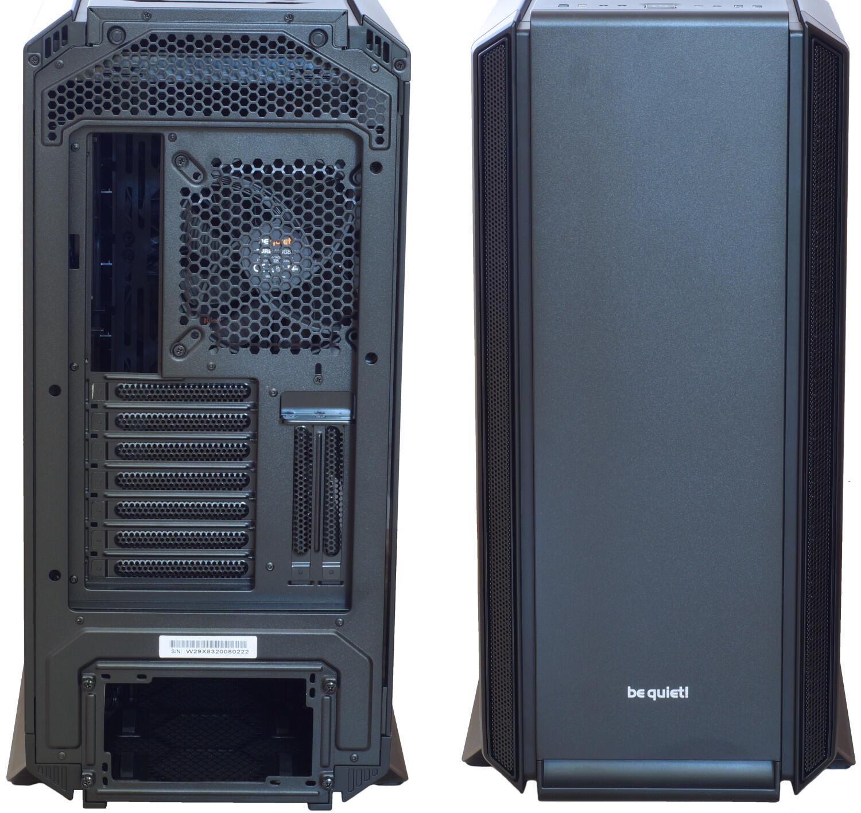 Kompyutery i komplektuyushcie - Obzor i test Mid-Tower korpusa be quiet! Silent Base 801 Window