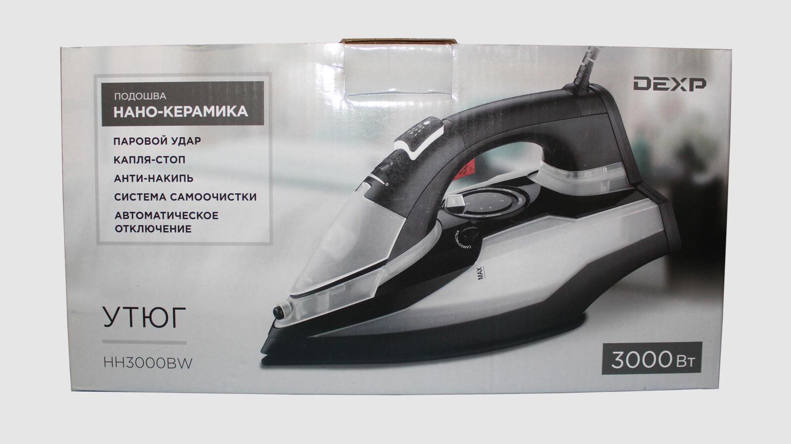Bytovaya Tehnika - Utyug DEXP HH3000BW