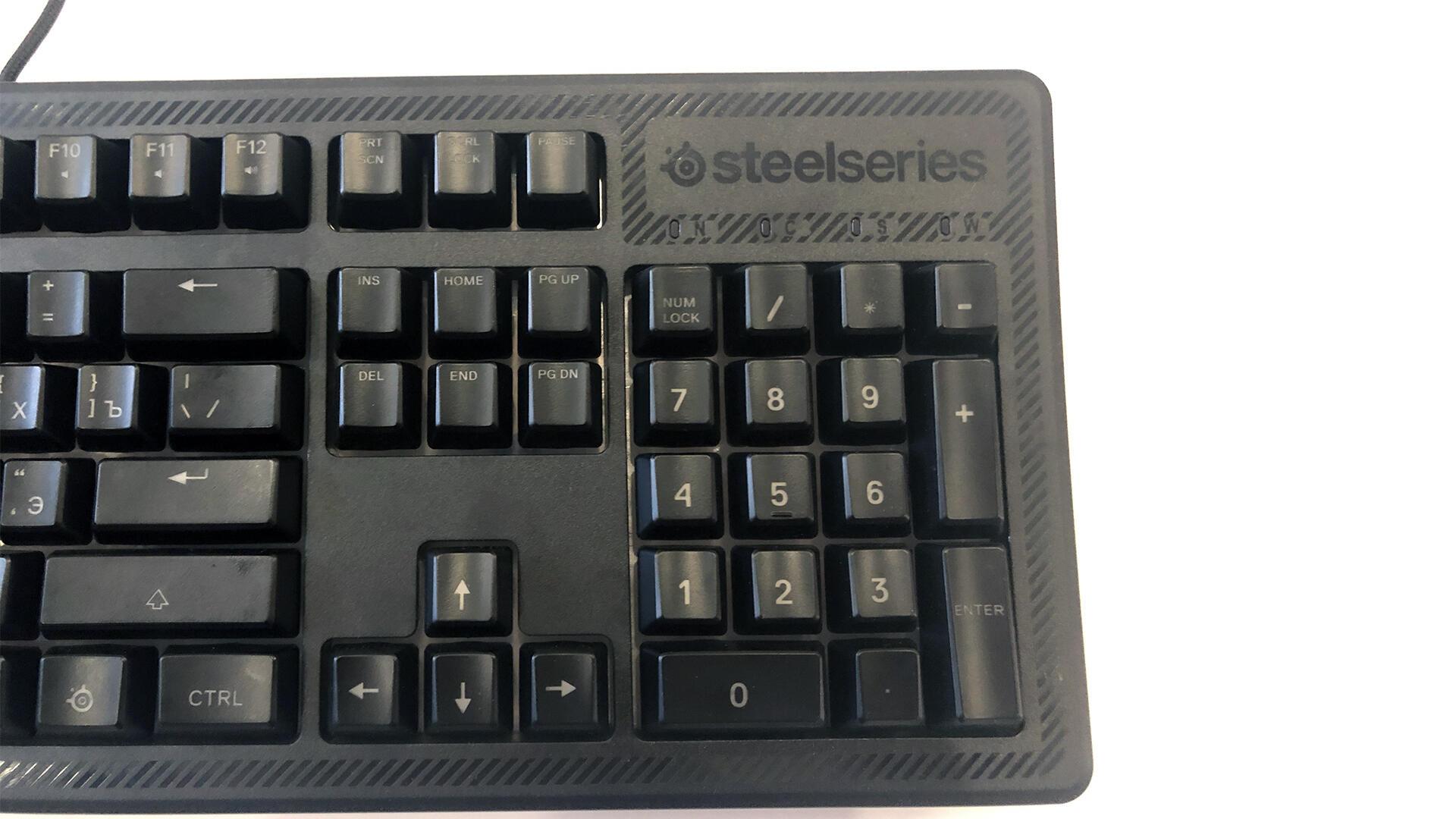 Periferiya - SteelSeries Apex 150