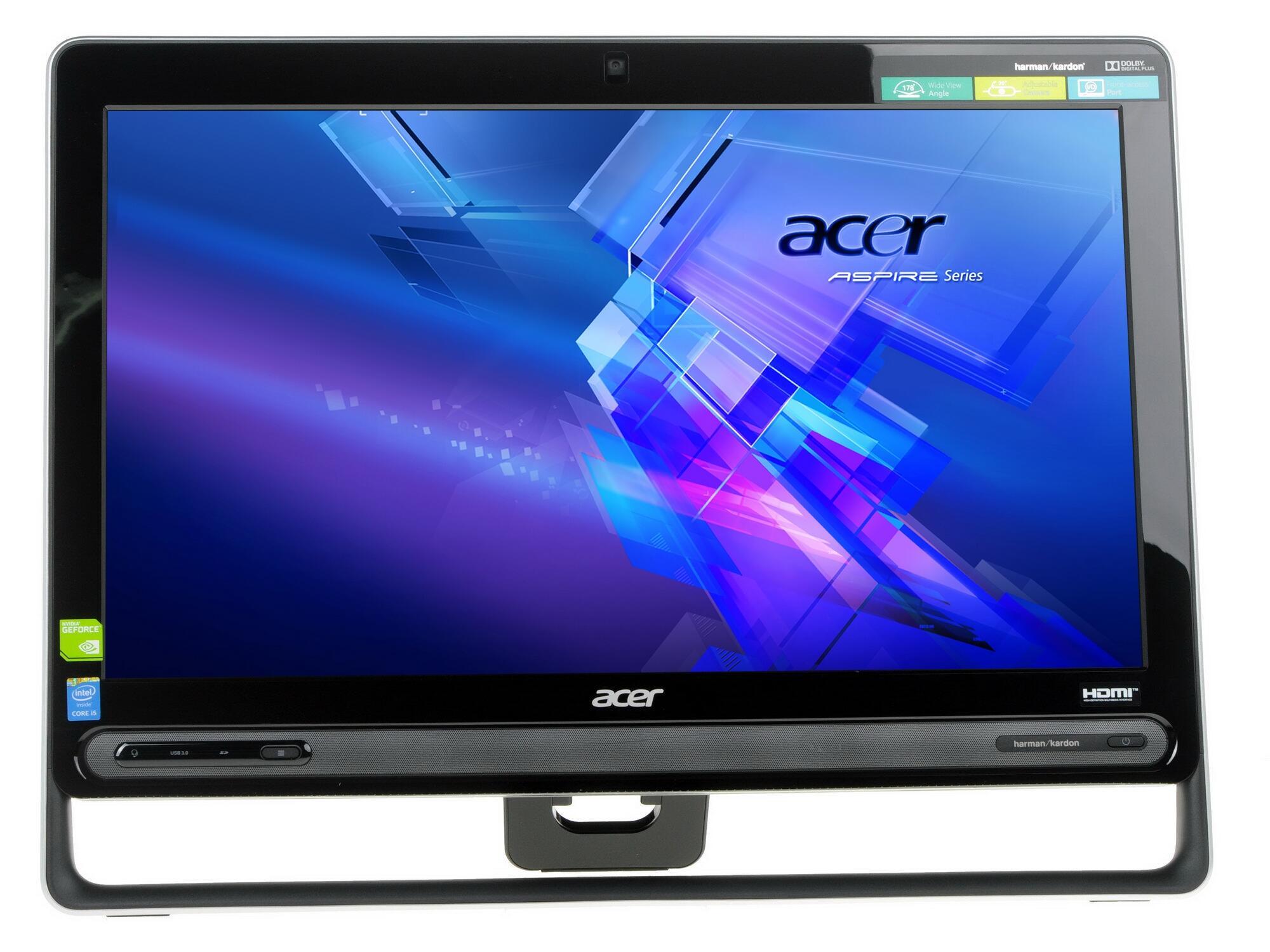Моноблок Acer Aspire C22-860 (DQ.BAVER.001) Pentium-4405U (2.4)/4GB/500GB/21.5