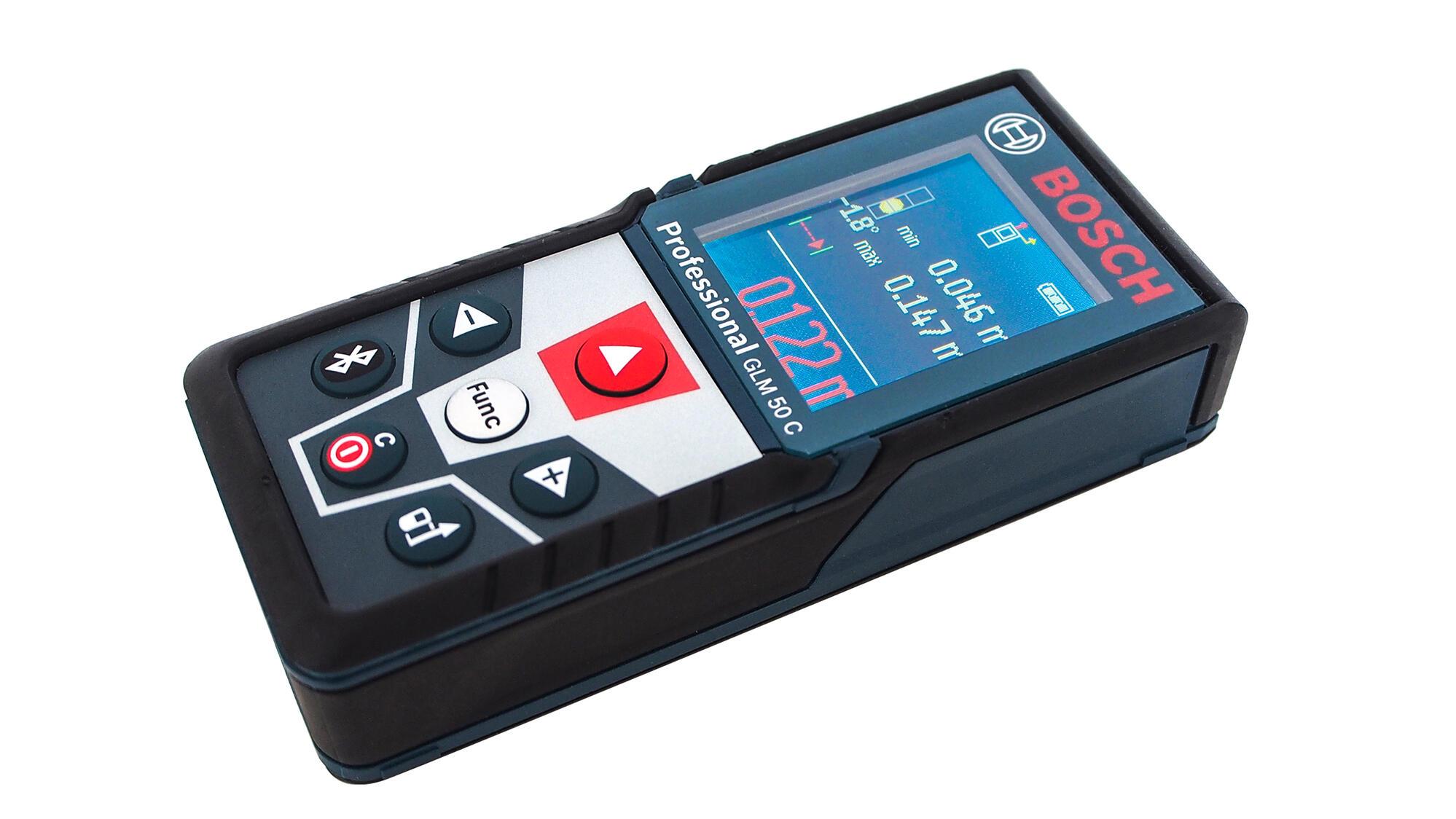 Instrumenty - Obzor lazernogo dalnomera Bosch GLM 50C. V pomoshc masteru